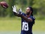 Seattle Seahawks wide receiver Sidney Rice (18) catches a pass in a drill during organized team activities. (Joe Nicholson-USA TODAY Sports)