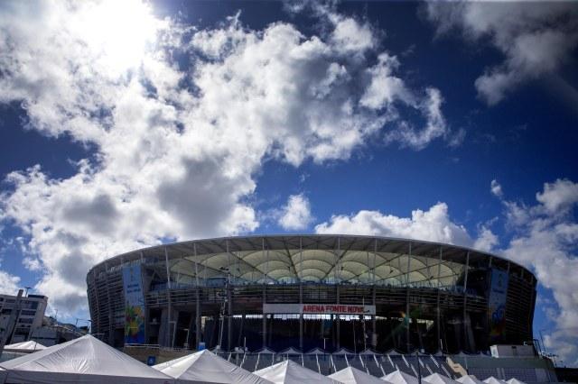 Estadio Roberto Santos, where the U.S. and Belgium will face off. (Mark J. Rebilas-USA TODAY Sports)
