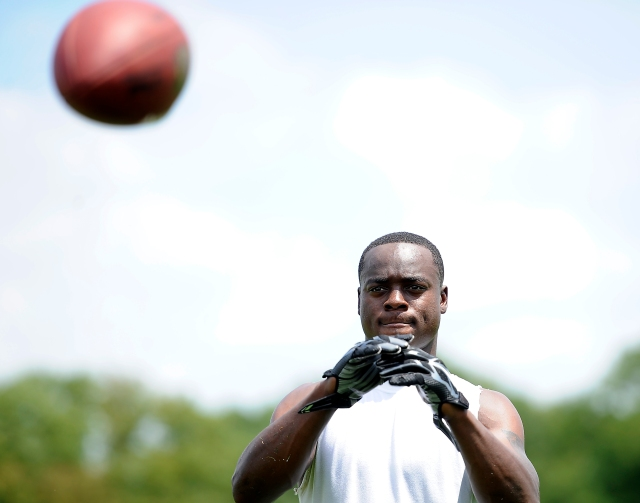 Jeremy Maclin will try to fill the void left by DeSean Jackson's departure. (Michael Perez, AP)
