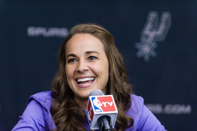 Becky Hammon joining the Spurs should catch the attention of other teams. (Bahram Mark Sobhani, AP)