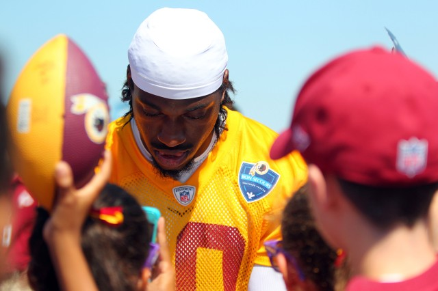 Which RG3 will we see? (Geoff Burke, USA TODAY Sports)