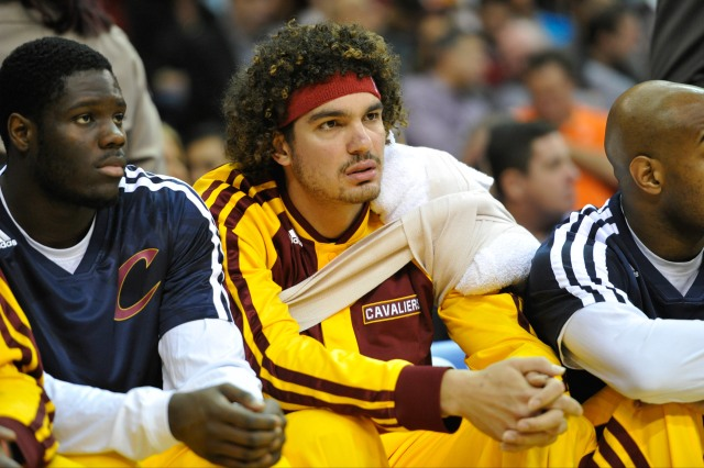 Anderson Varejao has struggled with injuries the past four seasons. (David Richard, USA TODAY Sports)