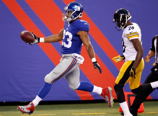Rashad Jennings (William Perlman/THE STAR-LEDGER via USA TODAY Sports)