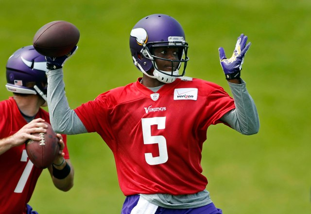 Teddy Bridgewater has the chance to stand out on Friday against the Raiders. (Bruce Kluckhohn, USA TODAY Sports)