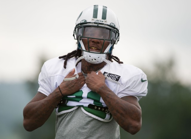 Chris Johnson likely will be part of a running-back-by-committee approach. (Rich Barnes, USA TODAY Sports)