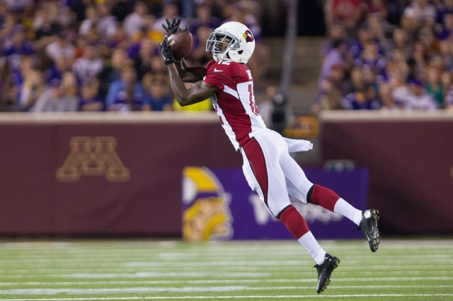 John Brown has been a revelation for the Cardinals. (Brad Rempel, USA TODAY Sports)