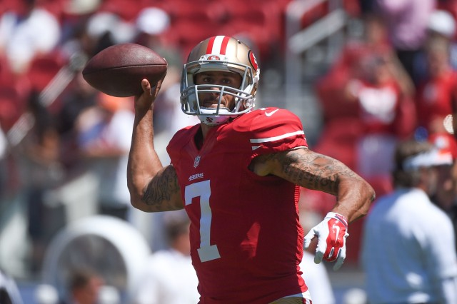 Colin Kaepernick and the 49ers are looking for their first touchdown of the preseason. (Kyle Terada, USA TODAY Sports)