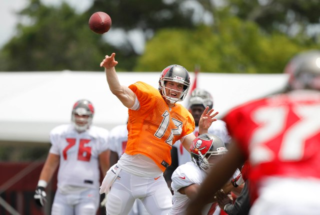 Josh McCown's reign in Tampa Bay begins Friday. (Kim Klement, USA TODAY Sports)