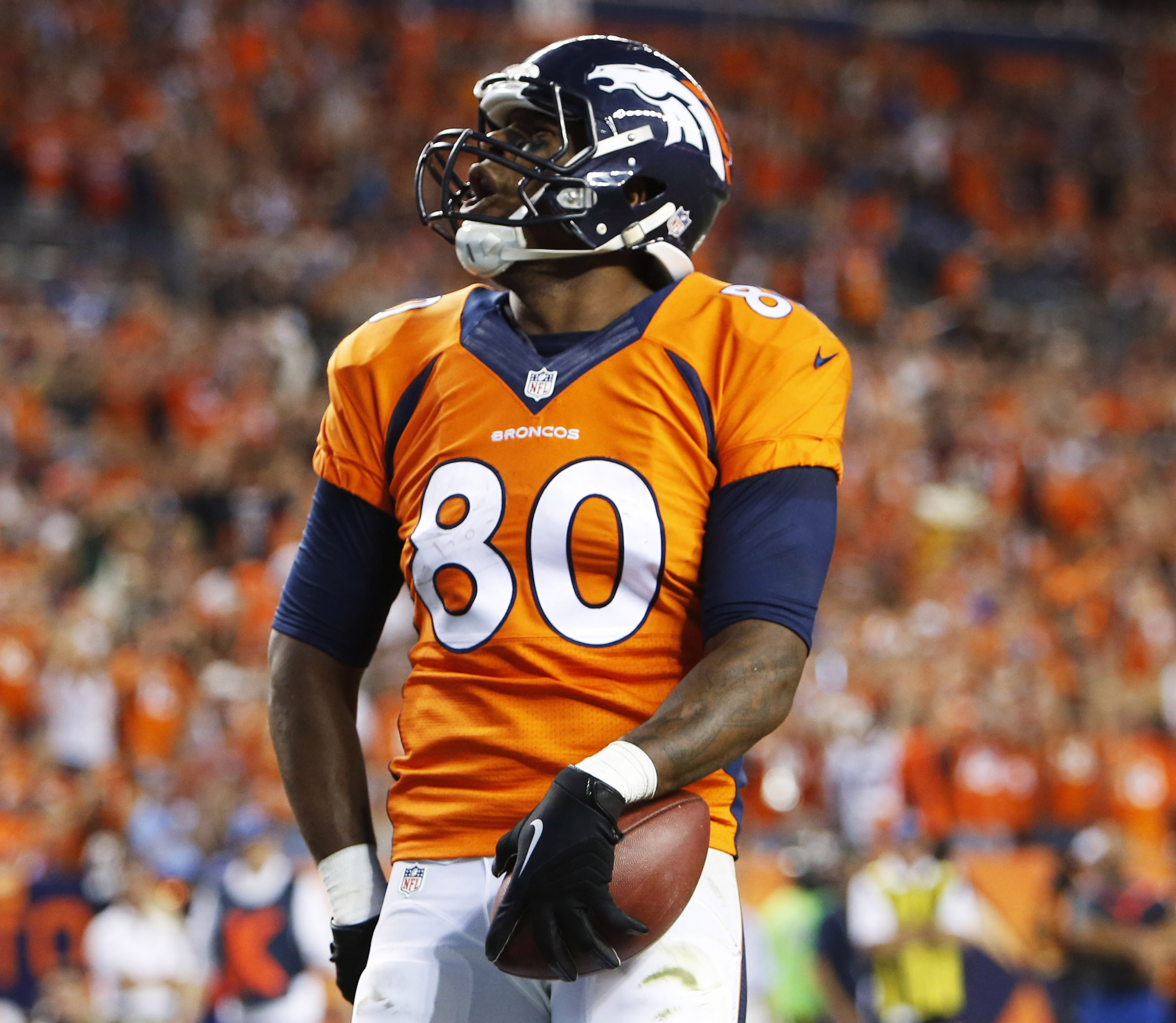 Julius Thomas is in the final year of his rookie contract. Chris Humphreys, USA TODAY Sports)