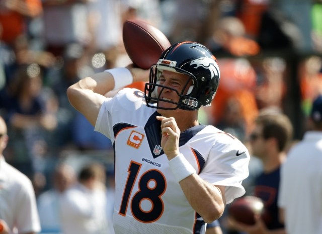 Peyton Manning (AP Photo/Elaine Thompson)