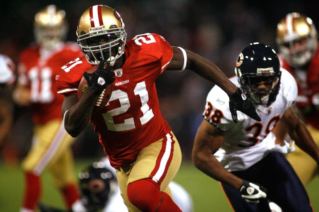 49ers RB Frank Gore has been outrunning Bears for years. (Cary Edmondson-USA TODAY Sports)