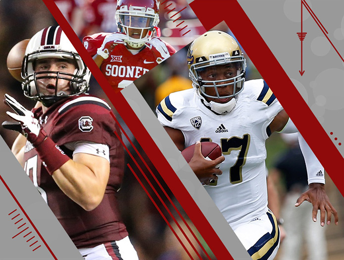 South Carolina, Oklahoma and UCLA all have tests in Week 3. / USA TODAY Sports