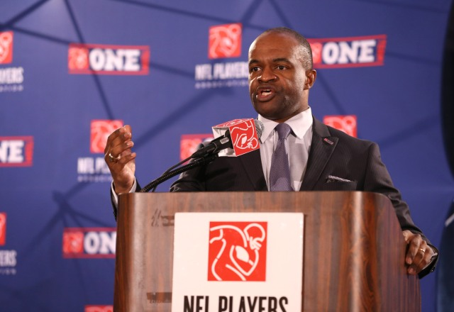 NFLPA executive director DeMaurice Smith. (Matthew Emmons, USA TODAY)