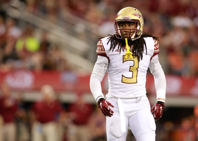 Ronald Darby's speed and quickness make him a tough matchup. (Tim Heitman, USA TODAY Sports)