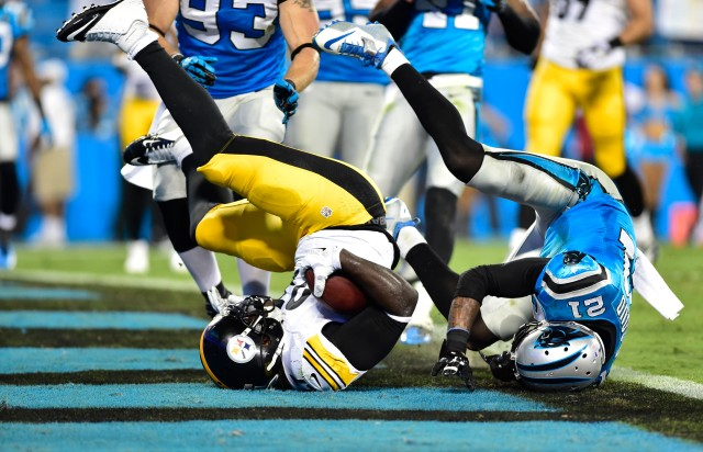 The Panthers were among the teams flipped-turned-upside-down in Week 3. (Bob Donnan-USA TODAY Sports)