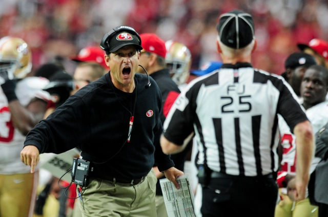 Jim Harbaugh and the 49ers have plenty of issues to clean up. (Matt Kartozian, USA TODAY Sports)