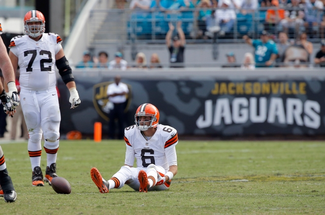 Brian Hoyer and the Browns fell well short of expectations against the struggling Jaguars. (Stephen B. Morton, Associated Press)