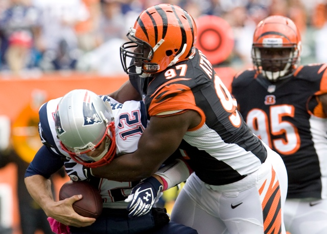 Can Geno Atkins' Bengals take down Tom Brady and Co. again? (Mark Zerof/USA TODAY Sports)