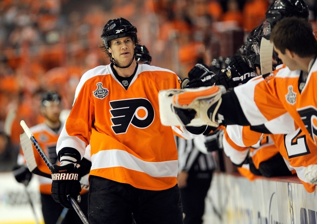 Chris Pronger is still being paid by the Flyers. (Bill Smith/NHL via Getty Images)