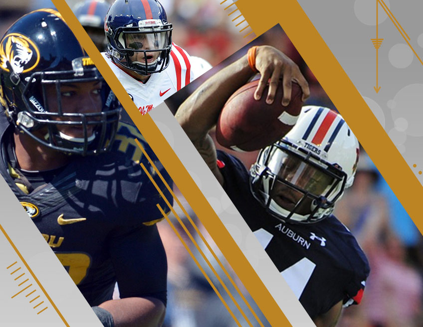 Missouri, Ole Miss and Auburn face tough tests. (USA TODAY Sports)
