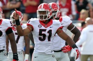 Ramik Wilson and Georgia are in playoff mix. (Nelson Chenault, USA TODAY Sports)