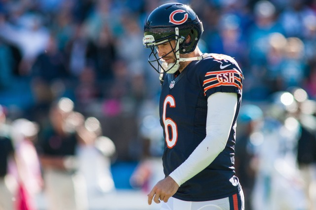 Jay Cutler's overconfidence came back to cost the Bears. (Jeremy Brevard, USA TODAY Sports)