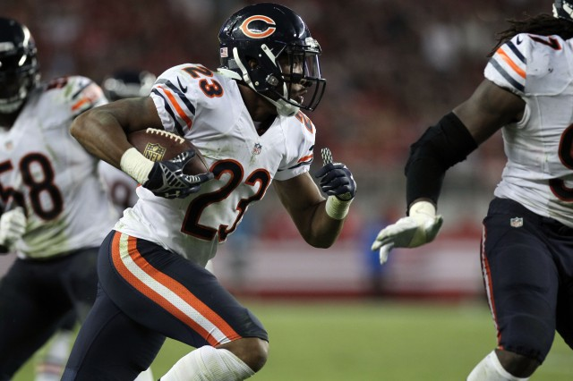 Kyle Fuller has been one of the few bright spots for the Bears' defense. (Lance Iversen, USA TODAY Sports)