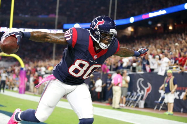 Andre Johnson could flourish with a change of scenery. (Matthew Emmons, USA TODAY Sports)