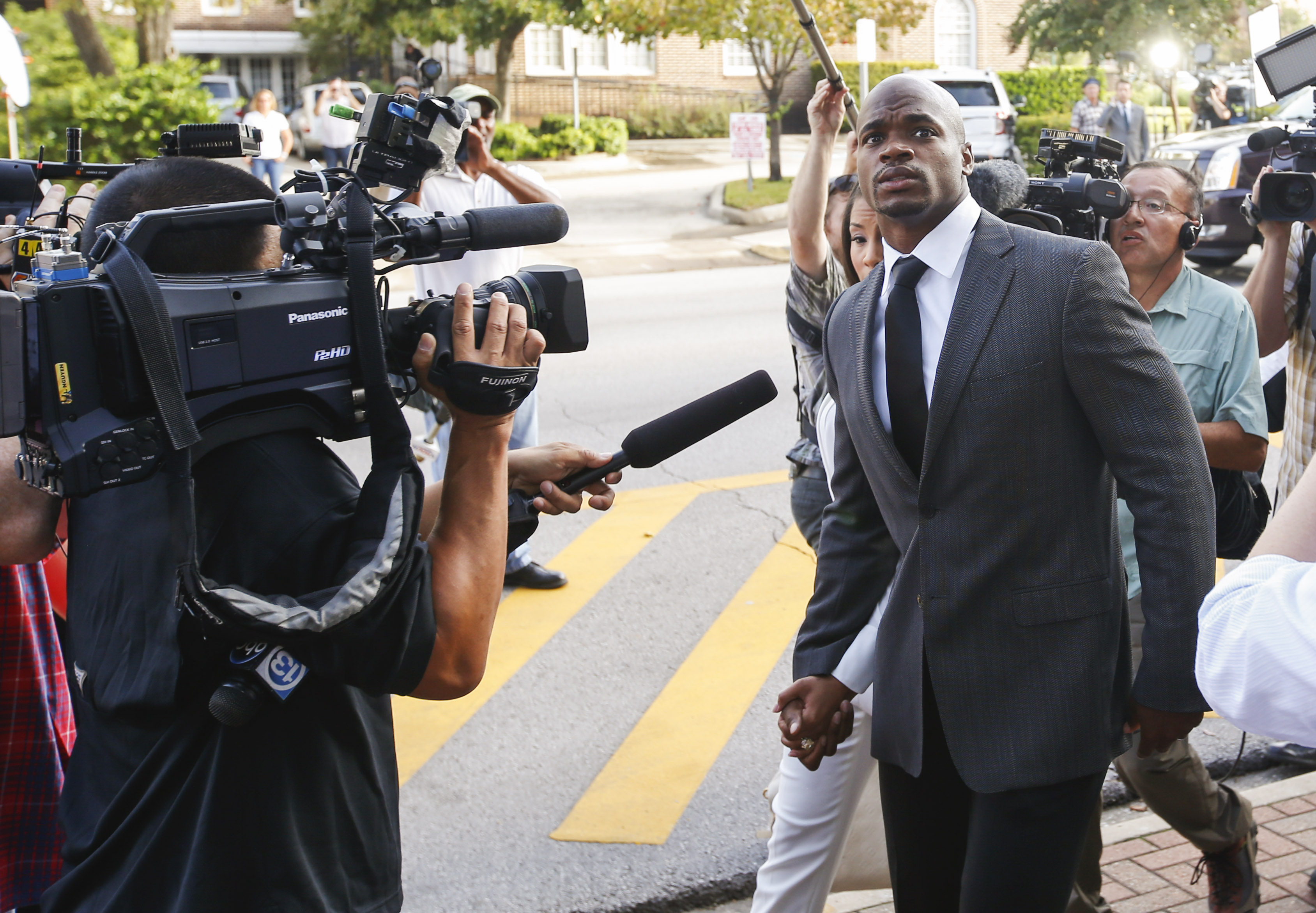 Adrian Peterson broke his silence Thursday. (Kevin Jairaji, USA TODAY Sports)