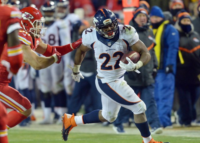 C.J. Anderson ran for more than 150 yards for the second week in a row. (Denny Medley, USA TODAY Sports)