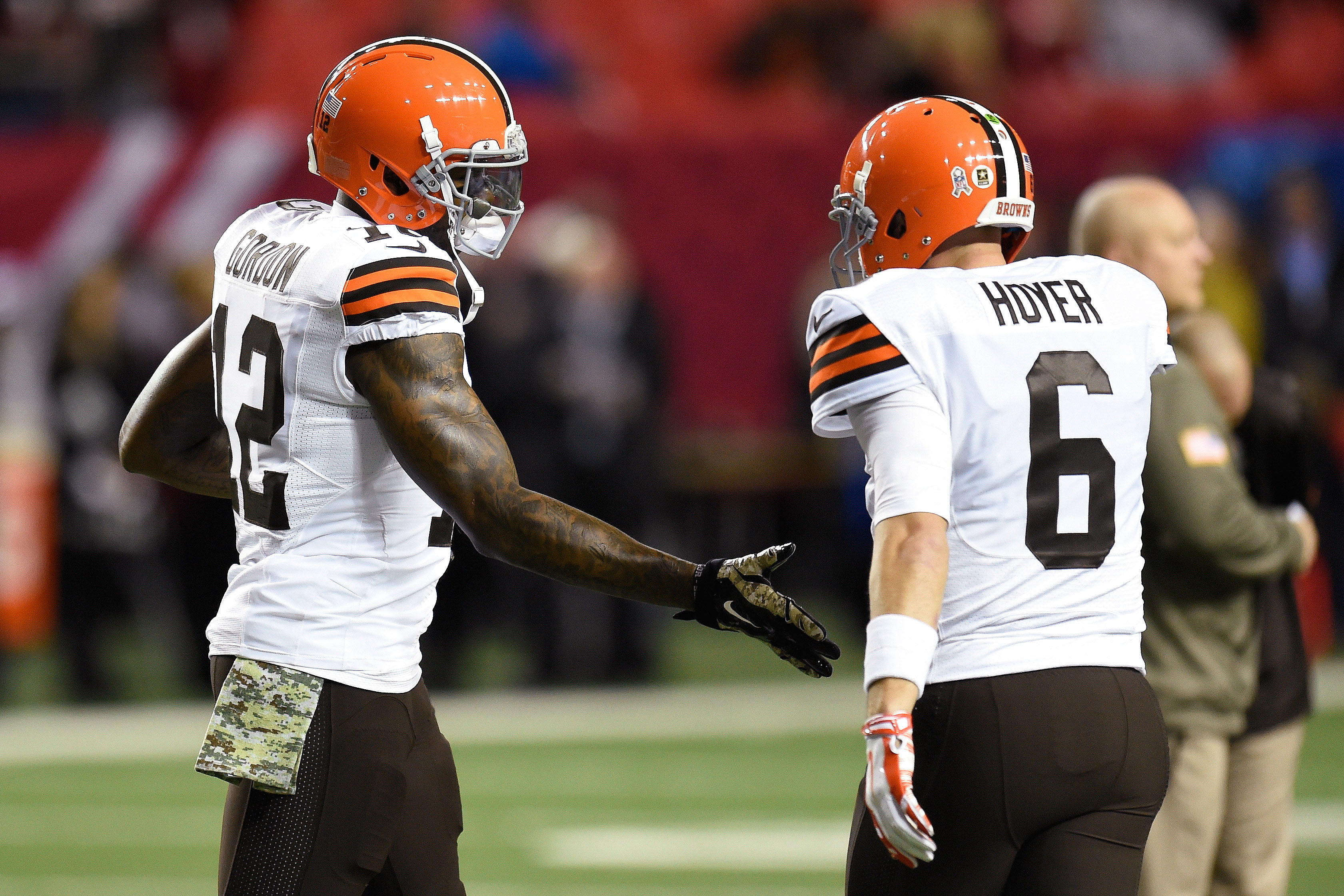 Brian Hoyer and the Browns get Josh Gordon back right when the schedule starts to toughen up . (Dale Zanine-USA TODAY Sports)
