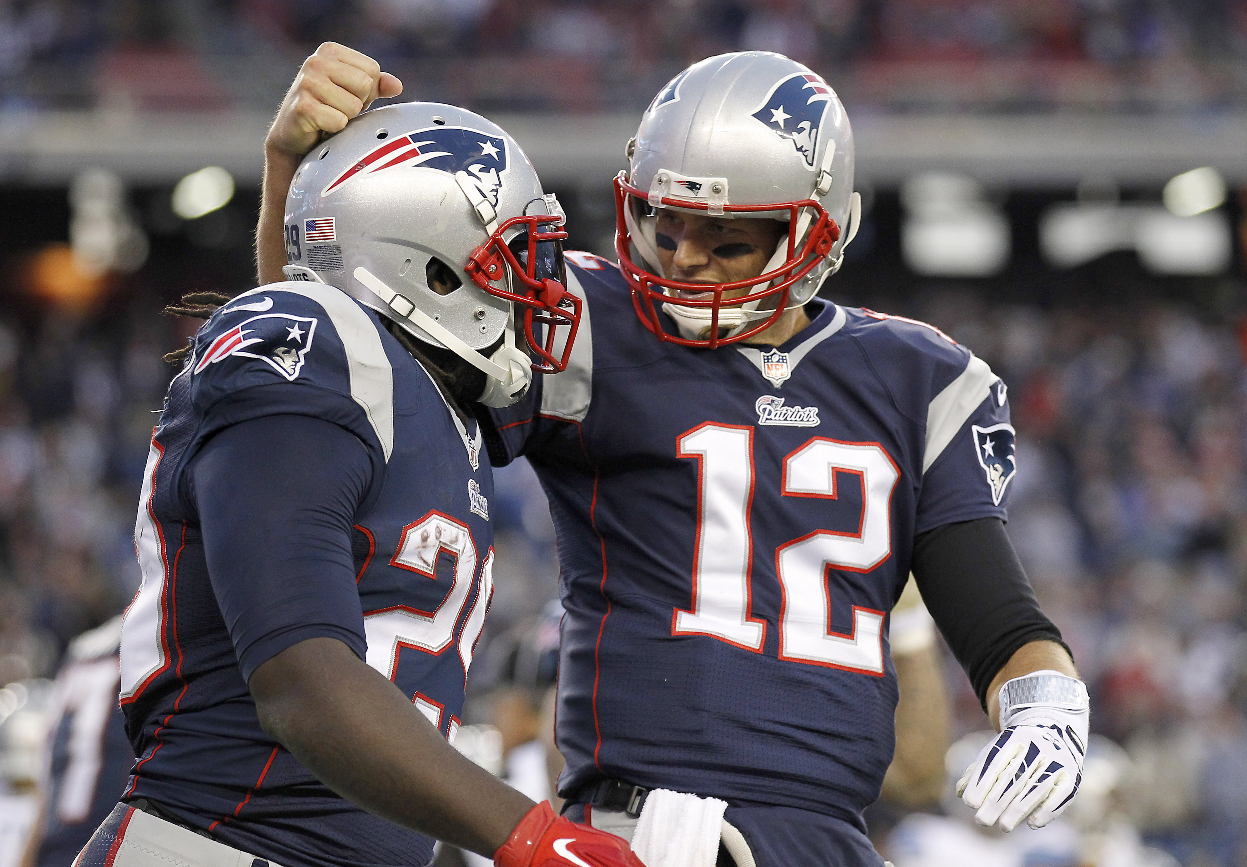 Tom Brady has the Patriots at the top of the AFC. (Stew Milne-USA TODAY Sports)