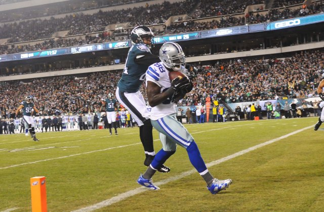 The Eagles had no answer for Dez Bryant, who had X touchdowns. (James Lang, USA TODAY Sports)