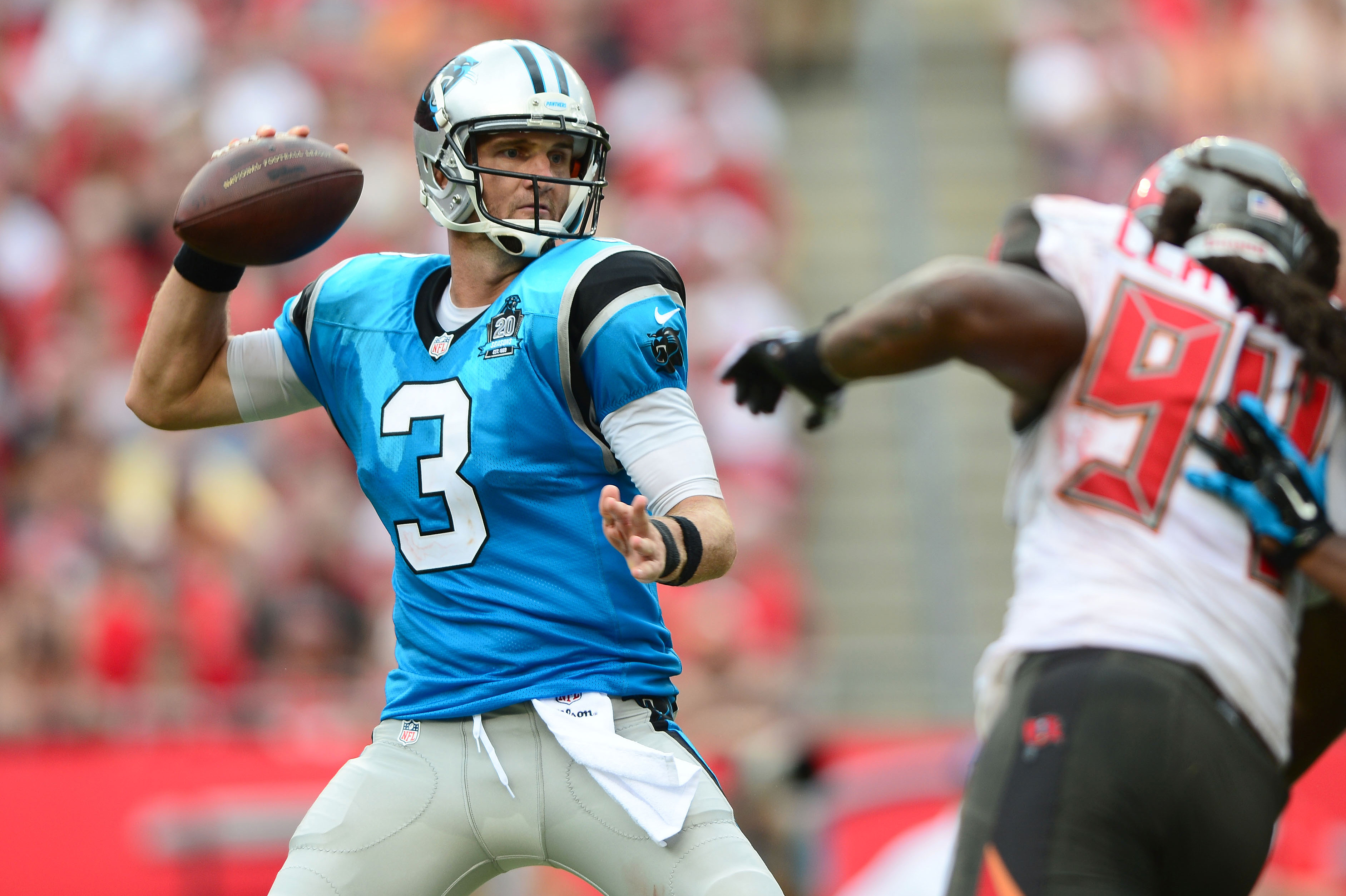 The Panthers turned to Derek Anderson in Week 1 against the Buccaneers with Newton hurt. (Andrew Weber-USA TODAY Sports)