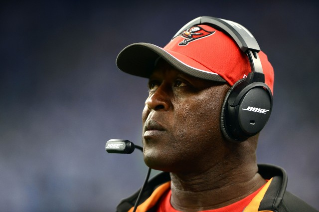 Lovie Smith's Buccaneers will have the first overall pick in the 2015 NFL draft.