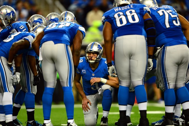 Matthew Stafford and the Lions could own a first-round bye by the end of Week 16. (Andrew Weber, USA TODAY Sports)