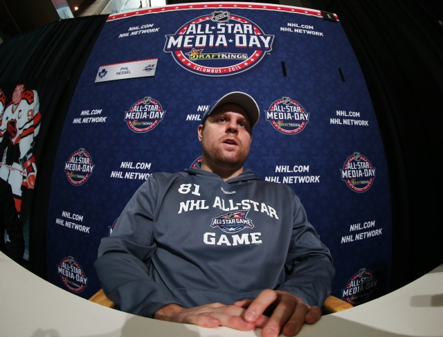 "Phil Kessel, who went last in 2011, says, ""Everyone's an All-Star here."" (Bruce Bennett, USA TODAY Sports)"