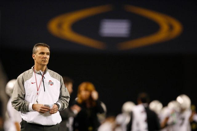 Urban Meyer's third title increased the pressure on new nemesis Jim Harbaugh -- and returned the Ohio State-Michigan rivalry to where it should be. (Tim Heitman, USA TODAY Sports)