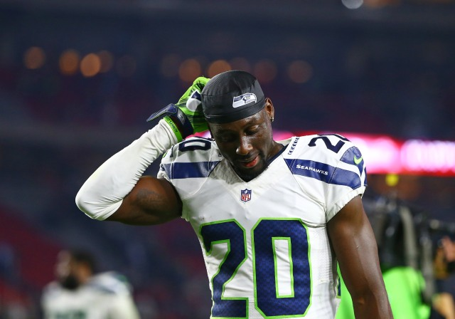 "Seahawks cornerback Jeremy Lane doesn't think Rob Gronkowski is ""that good."" (Mark J. Rebilas-USA TODAY Sports)."