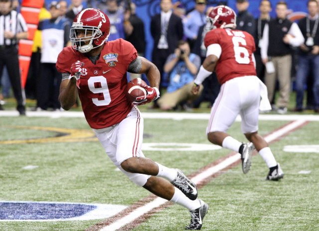 Alabama WR Amari Cooper  headlines yet another deep receiver class in 2015. (Derick E. Hingle-USA TODAY Sports)