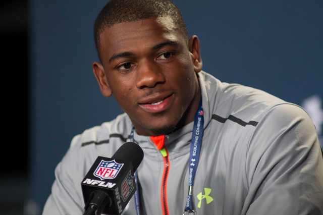 Devin Funchess tried to prove he could play receiver in the NFL. He really did. (Trevor Ruszkowski, USA TODAY Sports)
