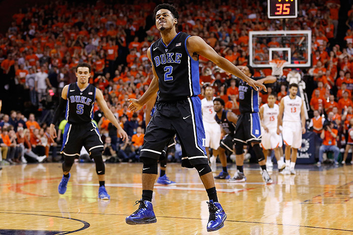 The Blue Devils dealt Virginia its first loss on Saturday. (USA TODAY Sports)