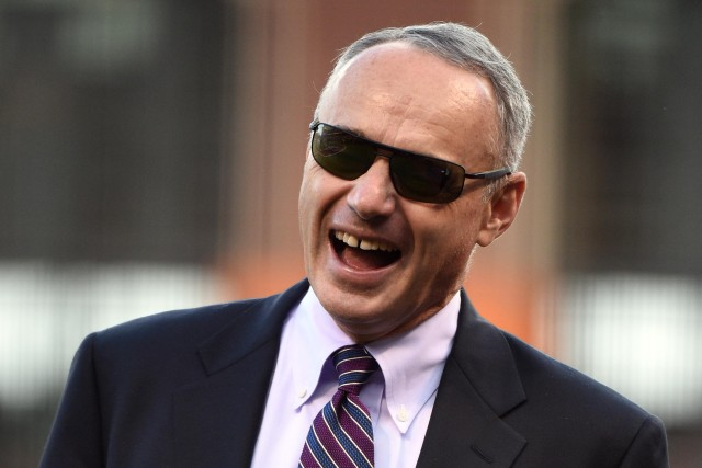 Keep spouting ideas, Rob Manfred. Kyle Terada, USA TODAY Sports)