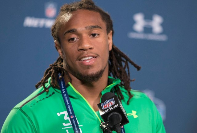 Shaq Thompson did little to clarify where he fits in the NFL. Trevor Ruszkowski, USA TODAY Sports)