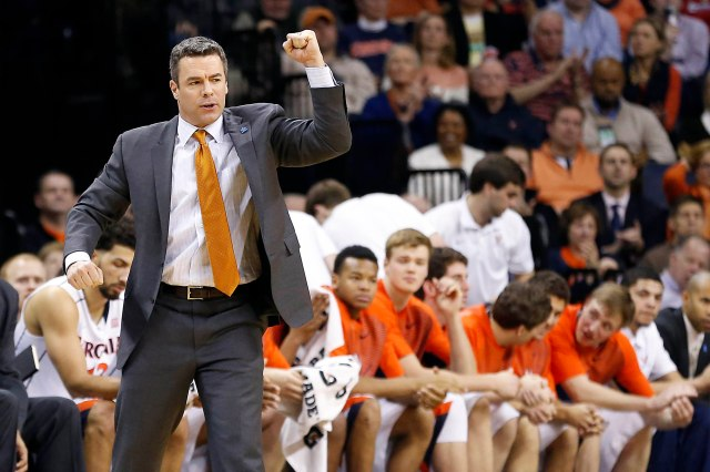 There's beauty in slow, methodical basketball -- because it leads to wins. Tony Bennett has Virginia in the title chase with a deliberate style. (Geoff Burke, USA TODAY Sports)