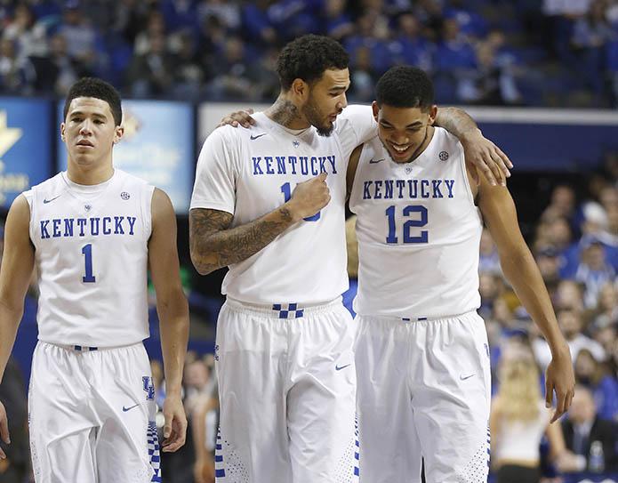 No. 1 seed Kentucky (USA TODAY Sports)