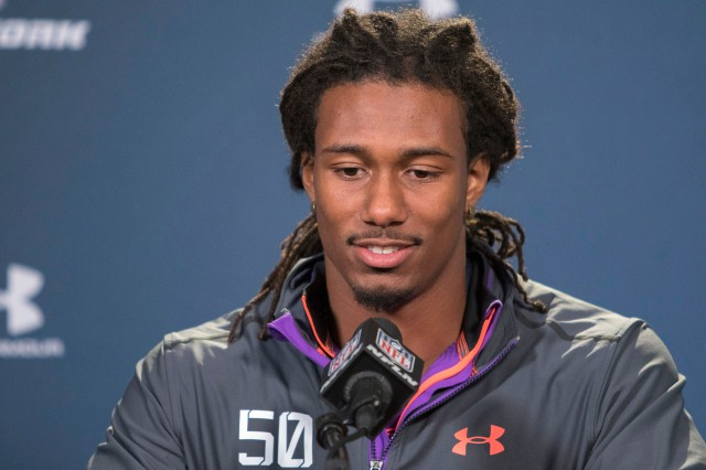Trae Waynes solidified his spot as the top corner in this year's class. (Trevor Ruszkowski-USA TODAY Sports)