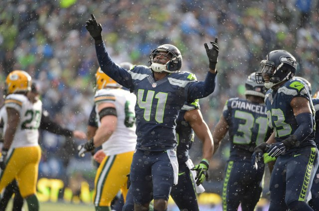 CB Byron Maxwell is the only starter in Seattle's secondary who wasn't injured by season's end. (Kirby Lee, USA TODAY Sports)