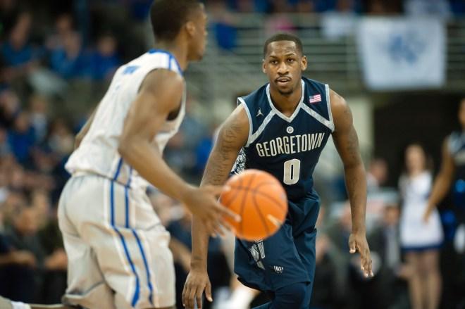 USP NCAA BASKETBALL: GEORGETOWN AT CREIGHTON S BKC
