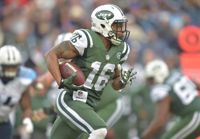 Percy Harvin is expendable after the Jets picked up Brandon Marshall. (Don McPeak-USA TODAY Sports)